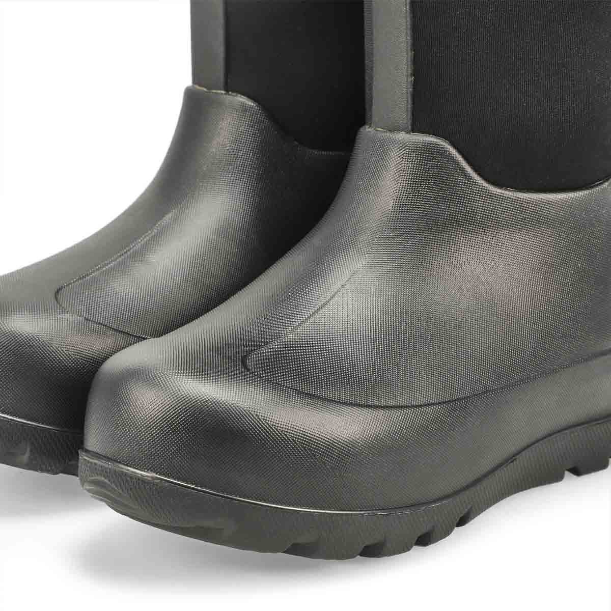 Kid's Neo-Classic Waterproof Winter Boot - Black