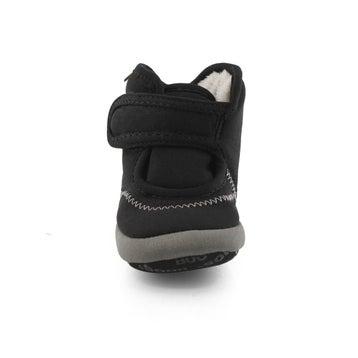Infants' ELLIOT II SOLID black slip on boots