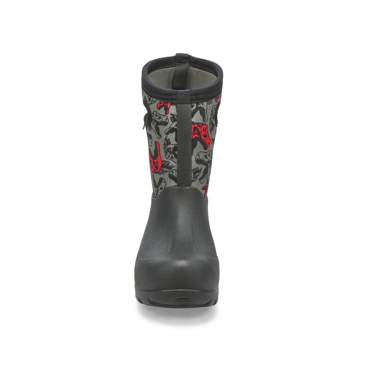 Boys' Neo Classic Cool Dinos Waterproof Boot