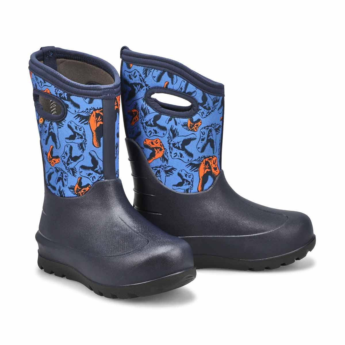 Boys' Neo-Classic Cool Dinos Waterproof Boot