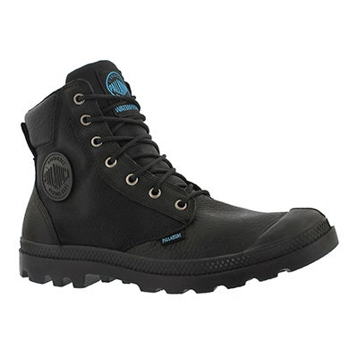 Palladium Men's PAMPA SPORT CUFF black waterproof boots