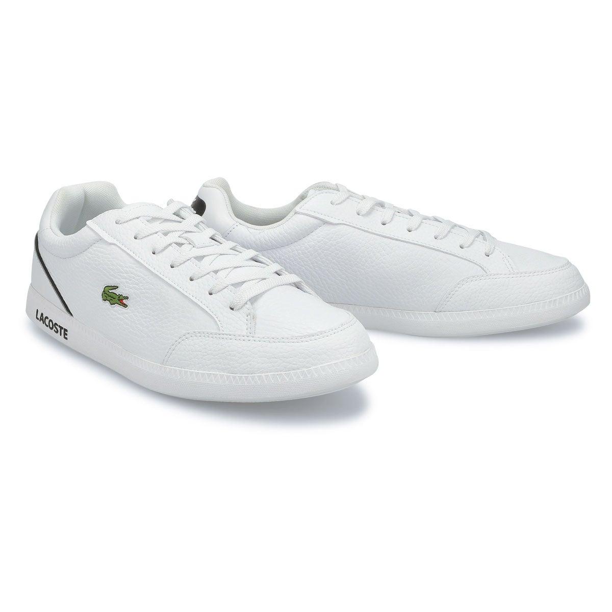 Men's Graduate Cap 0721 1 Sneaker -White/Black