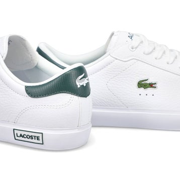 Men's Powercourt 0721 2 Sneaker - Wht/Dk Green