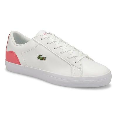 Espadrille Lerond 0121 1, blanc/rose foncé, femme