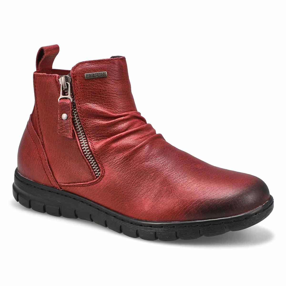 Women's Steffi 71 Waterproof Ankle Boot - Burgandy