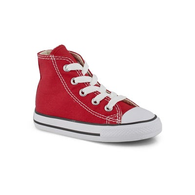 Converse Infants' CHUCK TAYLOR ALL STAR red sneakers