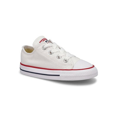 Converse Infants' CHUCK TAYLOR ALL STAR white sneakers