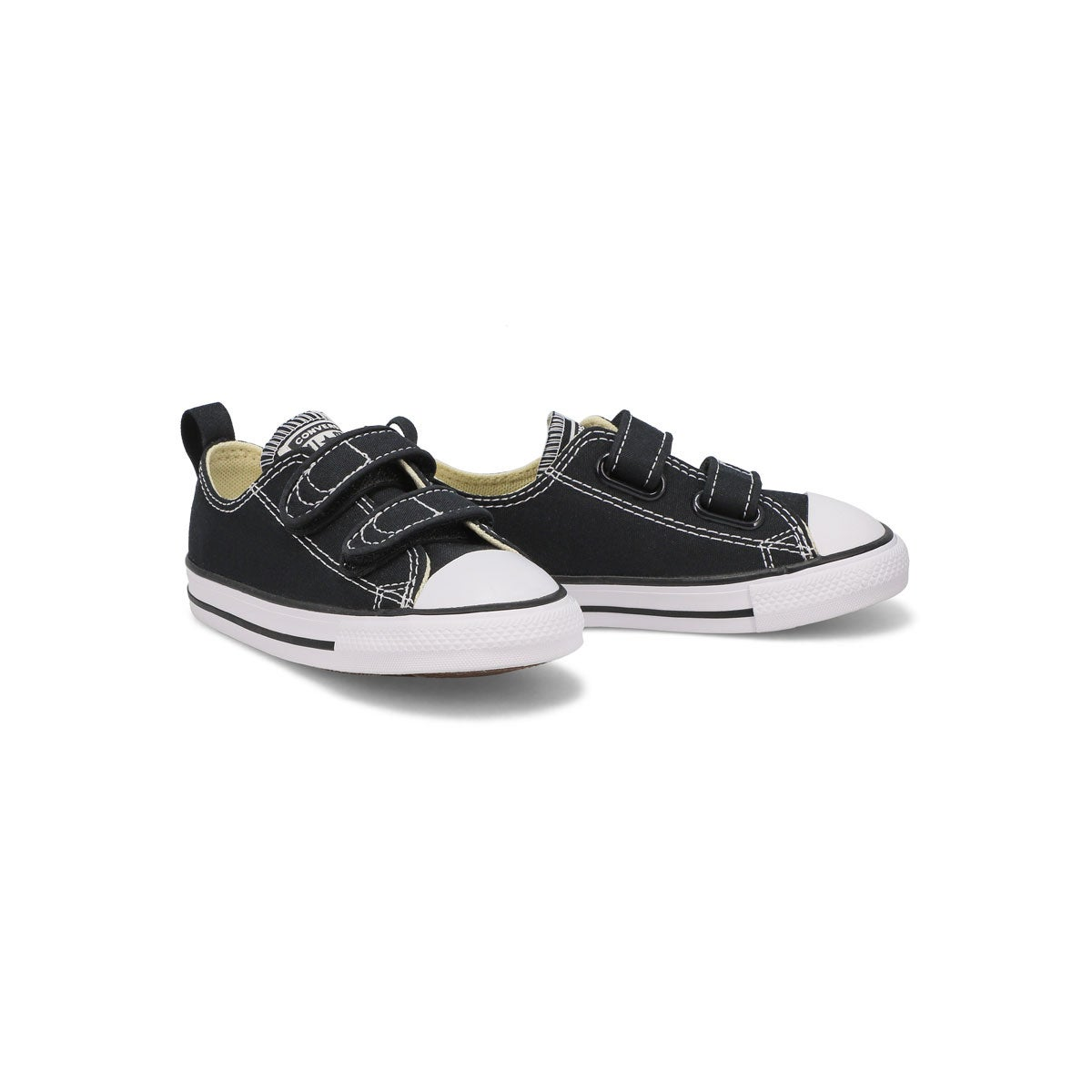 Infs Core V2 Ox black canvas sneaker