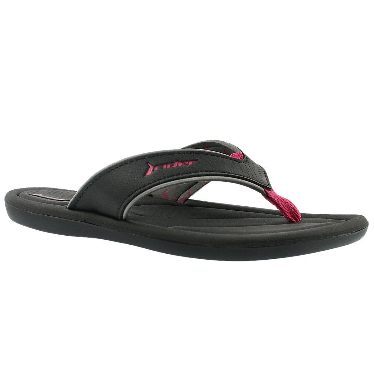 Lds Cloud III black flip flop sandal