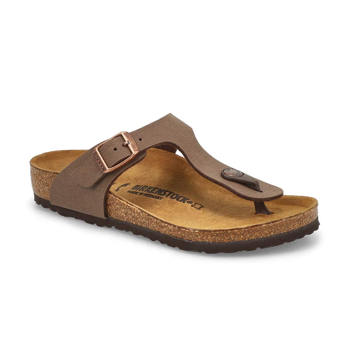 Girls' Gizeh Narrow Sandal - Mocha