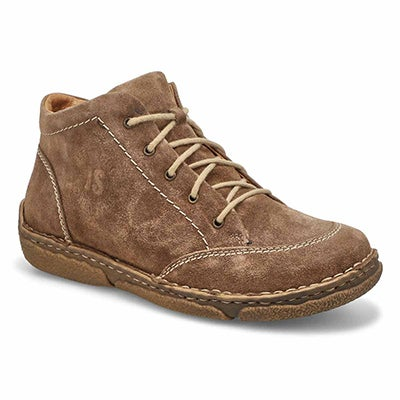 Lds Neele 01 taup casual lthr ankle boot