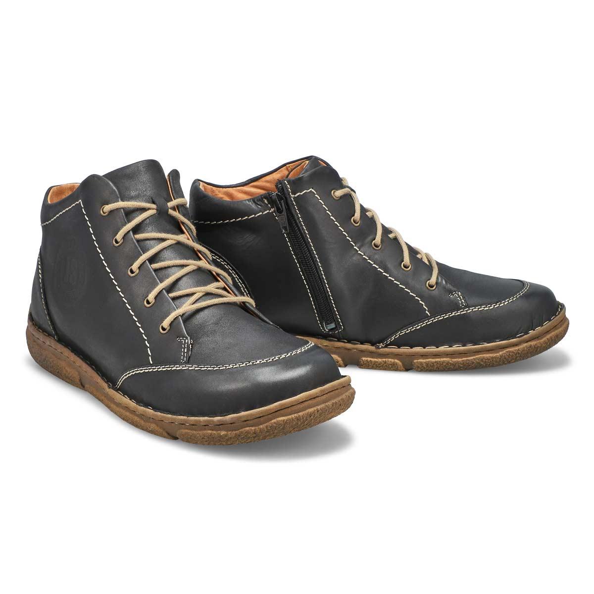 Women's Neele 01 Casual Ankle Boot - Black