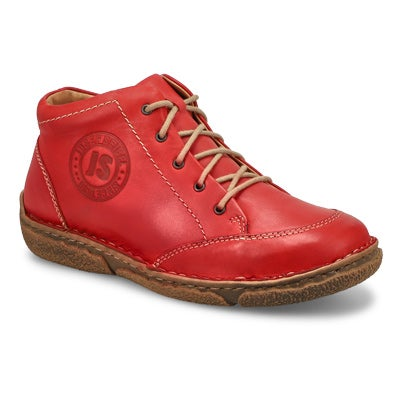 Lds Neele 01 hibiscus casual ankle boot
