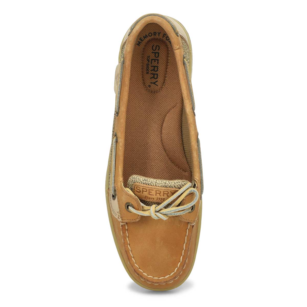 Chaussures bateau ANGELFISH, lin/avoine, femmes