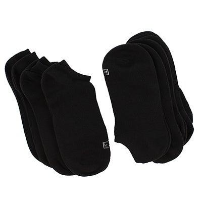 K BellSocquette Solid, noir, fem, 9 paires