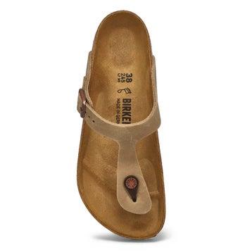 Women's Gizeh Thong Sandal - Tobacco