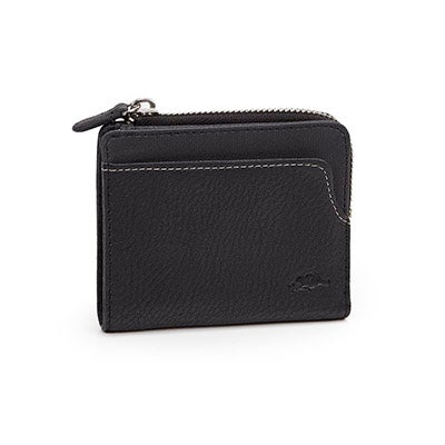 Roots Men's 95-Z GUN POWDER black wallet