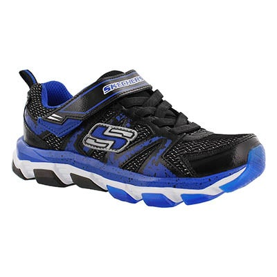 Skechers Boys' X-CELLORATOR 2.0 blk/royal sneakers
