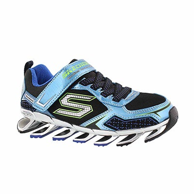 Skechers Boys' MEGA BLADE 2.0 blue/black sneakers