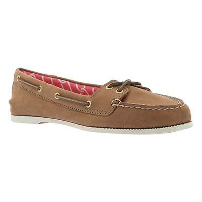 Sperry Women's AUDREY desert leather boat shoes