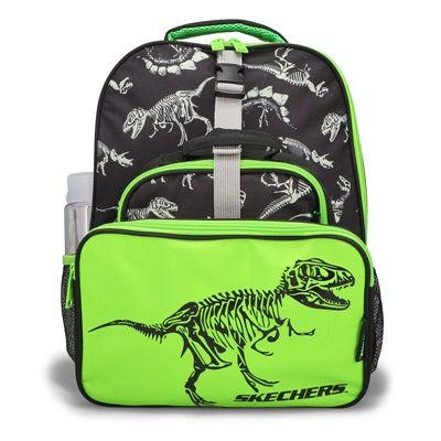 Kds 5 Piece Dino Backpack School Kit