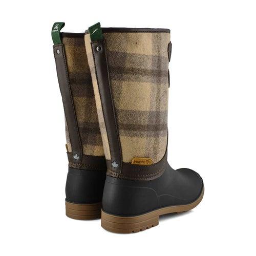 Lds Abigail beige wtpf rain boot