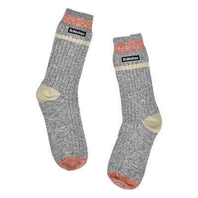 Lds Dr. Marten Marled Socks- Grey