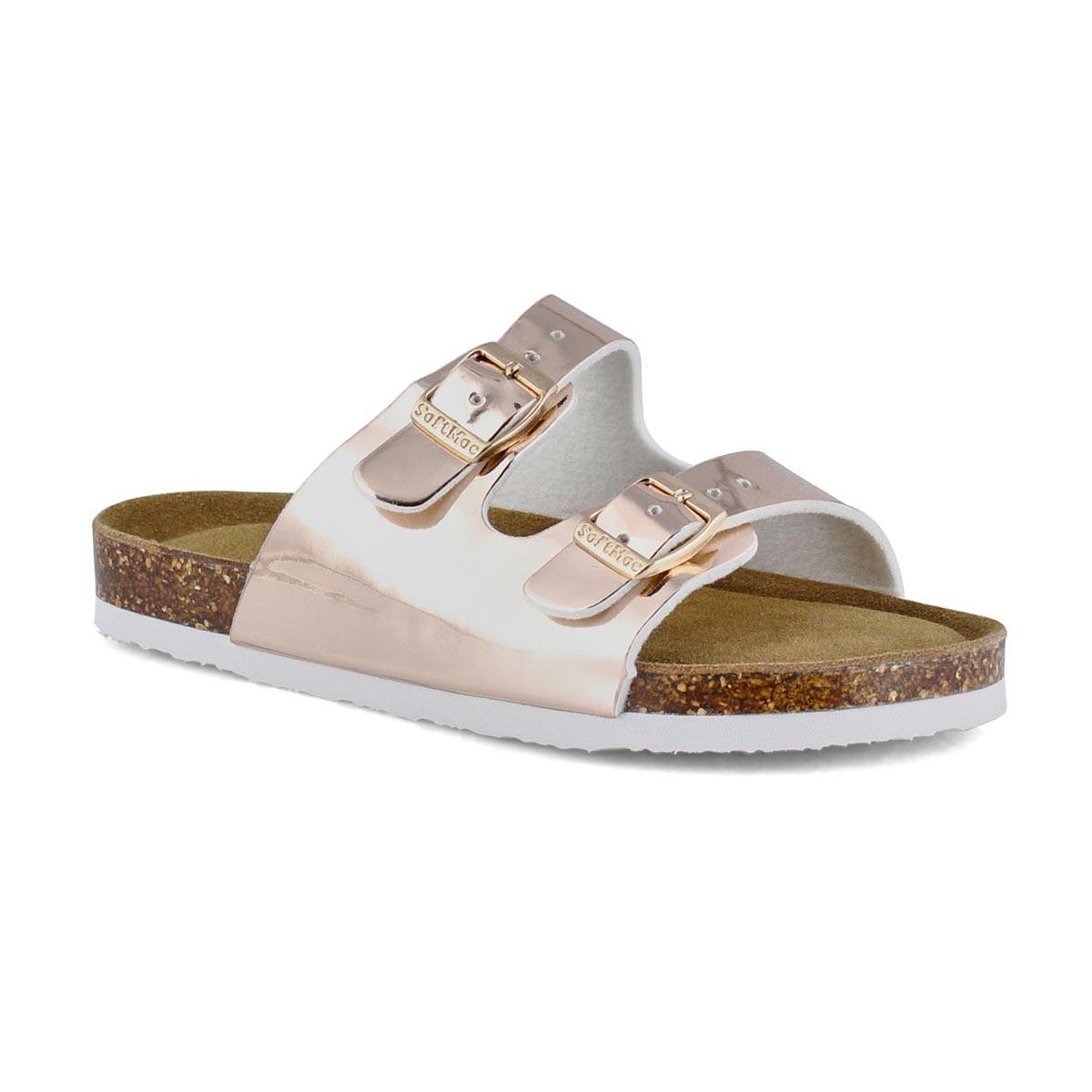 Sandales mousse mém. ALBERTA6, doré verni, filles