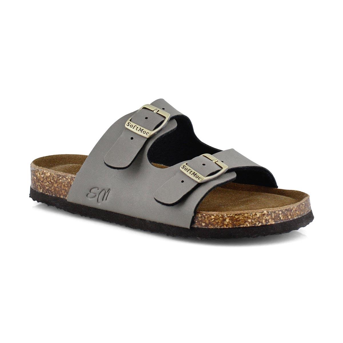 Sandales mousse mémoire ALBERTA 6, taupe, enfants