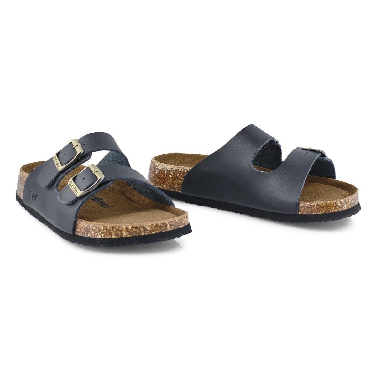 Sandales mousse mémoire ANNA 5, noir, femmes