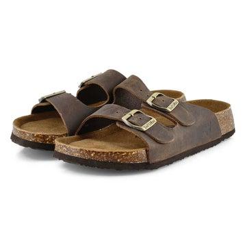 Sandales mousse mémoire ANNA 5, brun, femmes