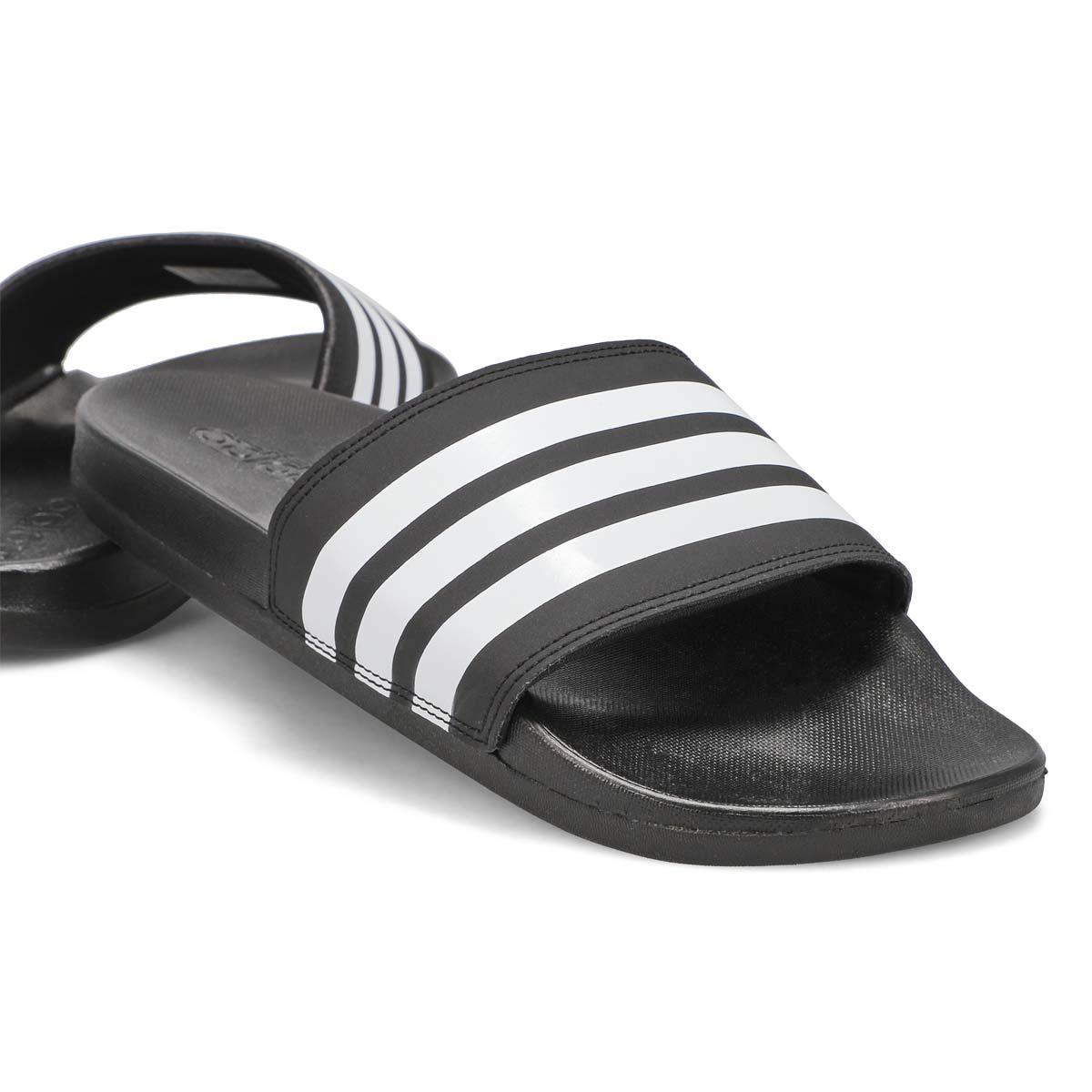 Women's Adilette CF+ Stripes W Slide - Black/White