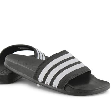 Women's ADILETTE  CF+ STRIPES W black/white slide