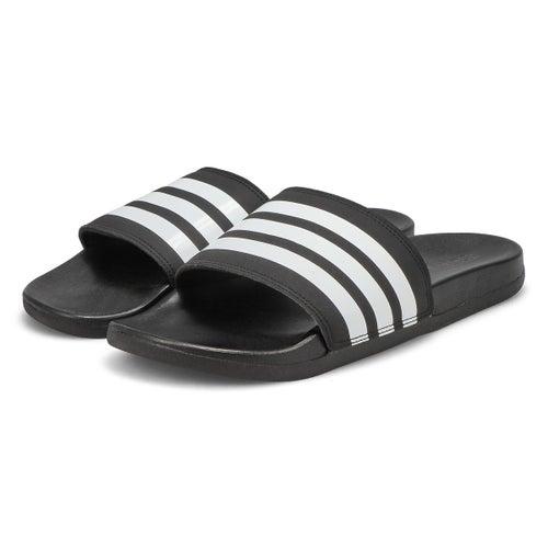 Lds Adilette CF+ Stripes W blk/wht slide