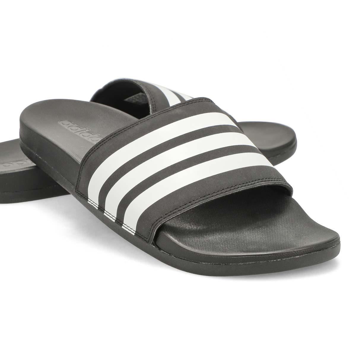 Men's Adilette CF+ Sport Slide - Black/White