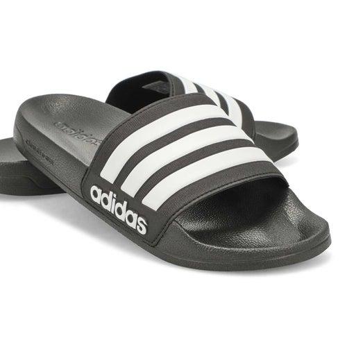 Mns CF Adilette Slide blk/wht sandal