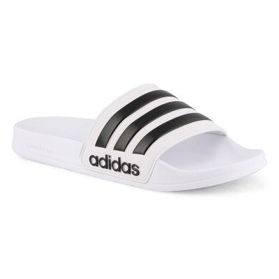 Mns CF Adilette Slide wht/blk sandal