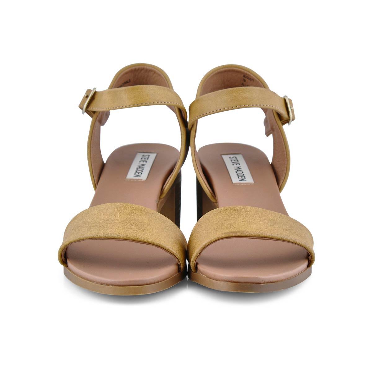 Sandale habillée August, cognac, femmes