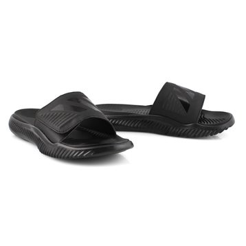 Men's ALPHABOUNCE SLIDE blk/blk sandals