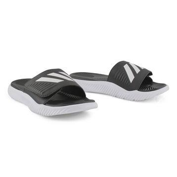 Men's ALPHABOUNCE SLIDE  blk/wht sandals