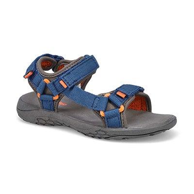 Bys Benny navy/ orange sport sandal