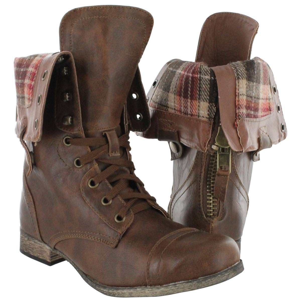 Black Combat Boots Women Fold Over Fold over combat boots