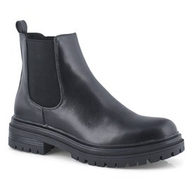 Lds Billiee black chelsea boot