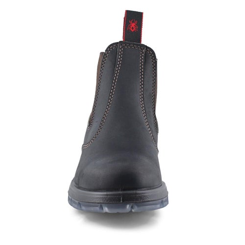 Unisex Bobcat claret leather pullon boot