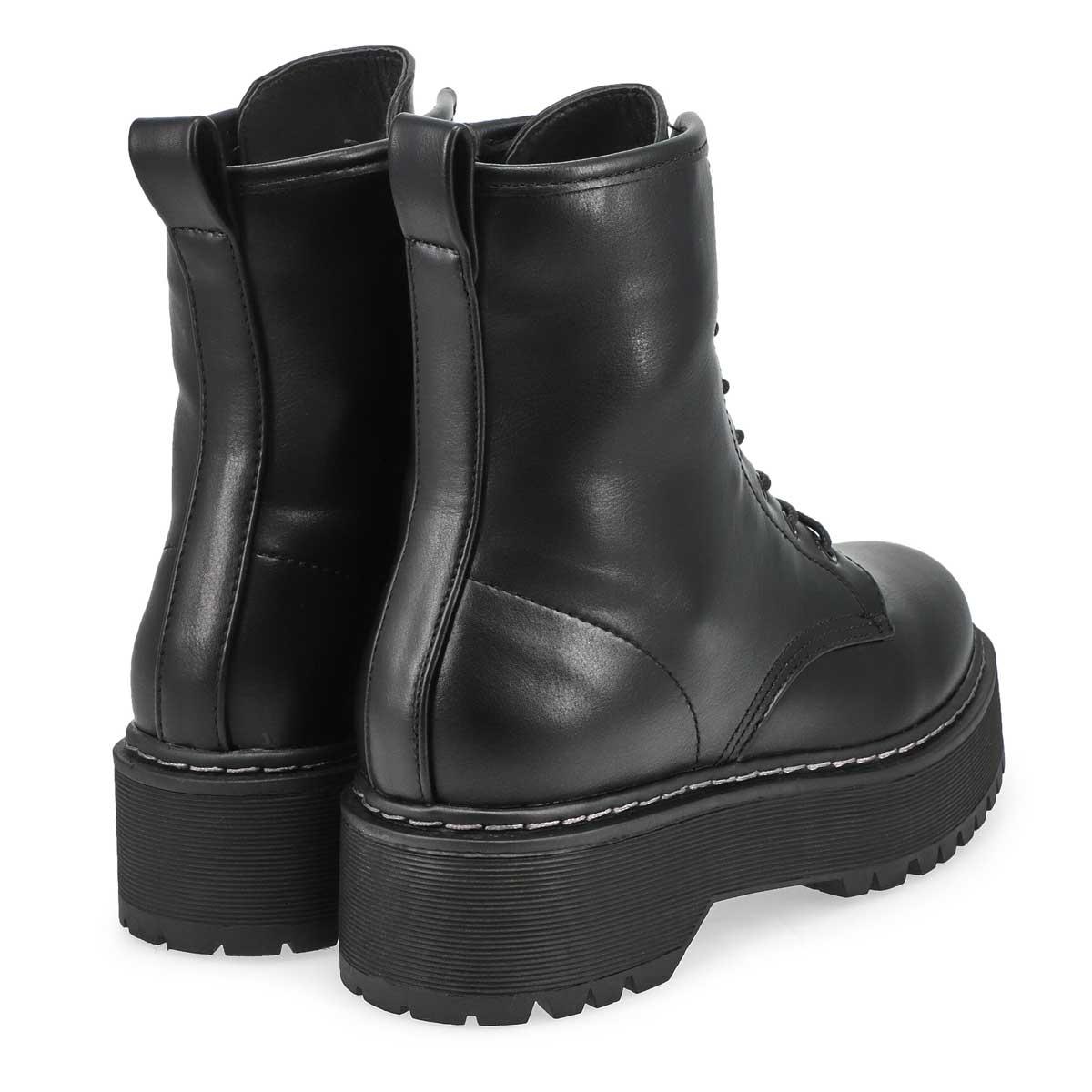 Women's Bolero Combat Boot - Black