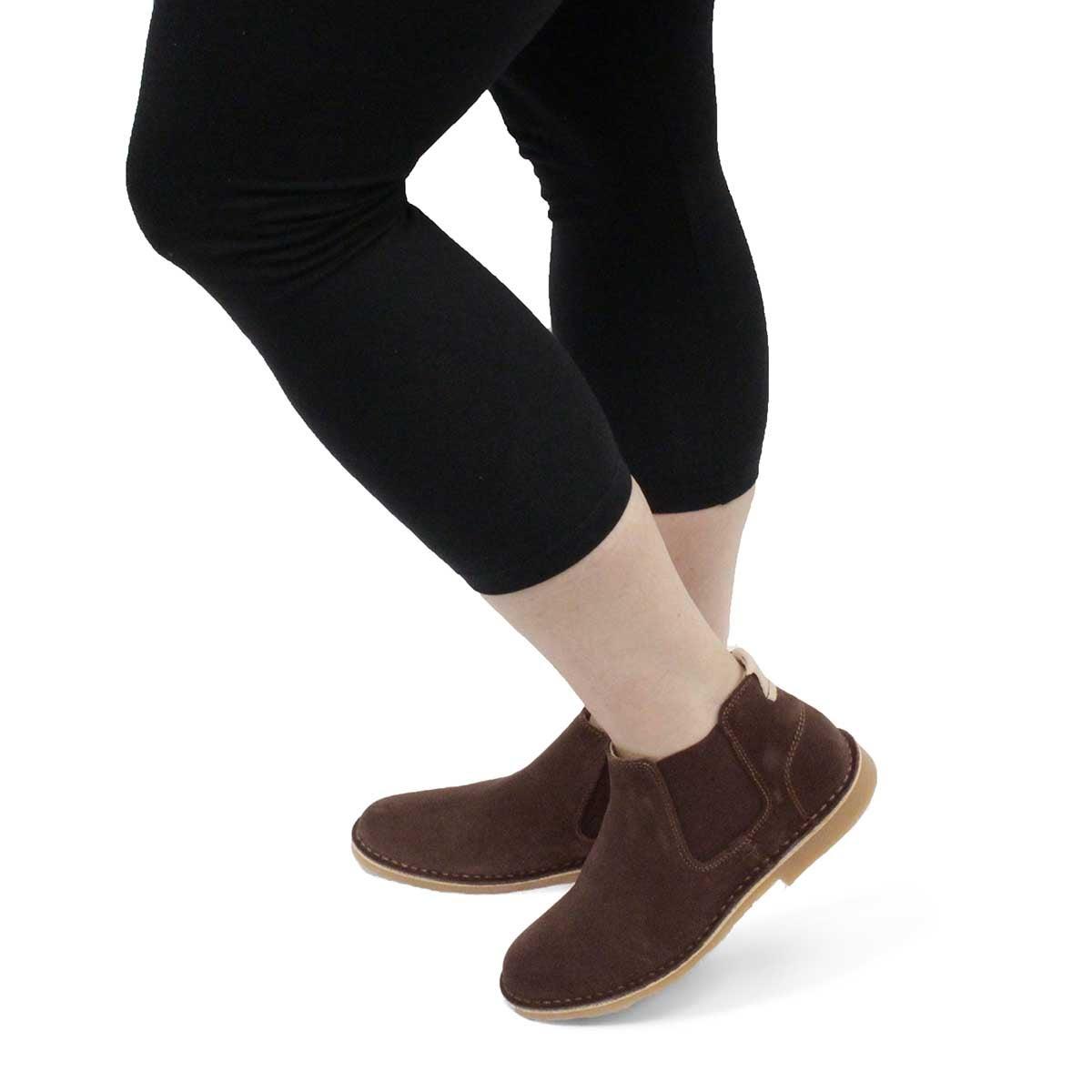 Women's Catey Chelsea Boot - Brown
