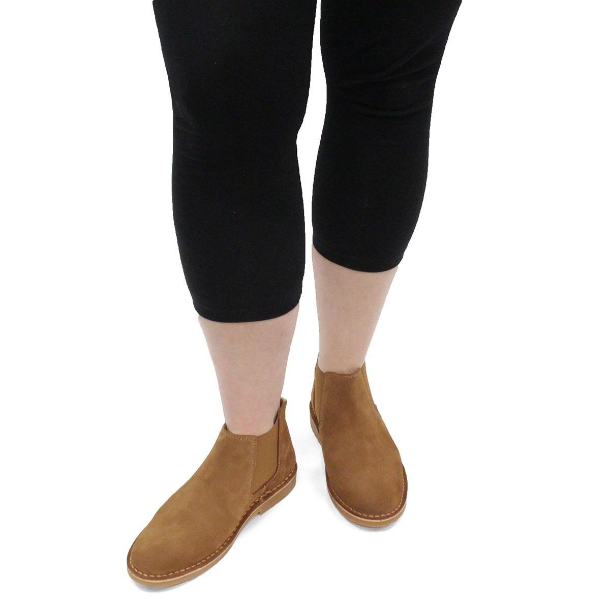 Women's Catey Chelsea Boot - Cognac