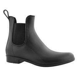 Lds Celeste black wtpf chelsea boot