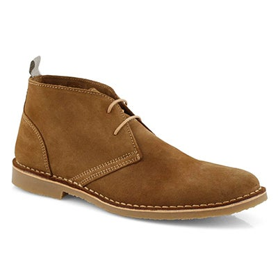 Mns Cesare cognac lace up chukka boot