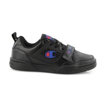 Kids' 3 On 3 Low Sneaker - Black
